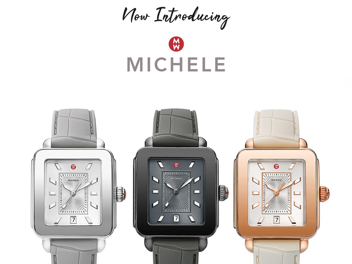 Kiefer Introducing Michele Watch Brand social media ads photoshop design