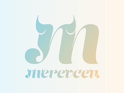 Merevcen merevcen thorny blog logo design branding type typography illustration