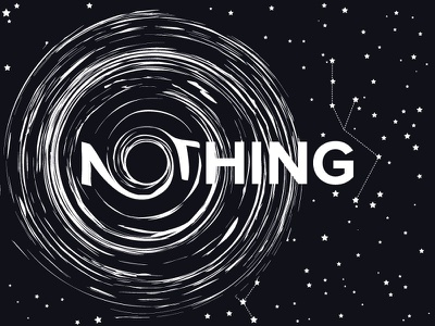 N🕳thing star black hole hole black nothing