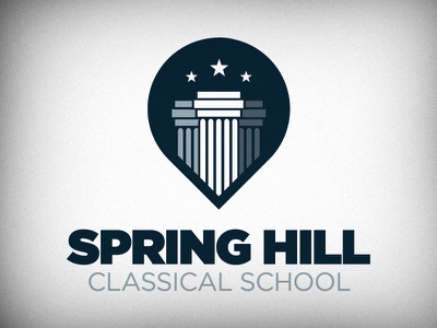 Spring Hill Classical School logo identity
