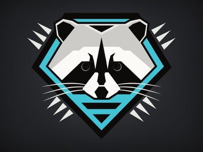 Forest Force: Raccoon shirt illustrator animal