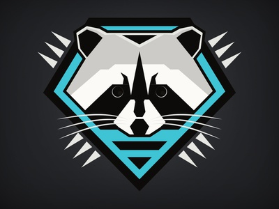 Forest Force: Raccoon shirt illustrator animal