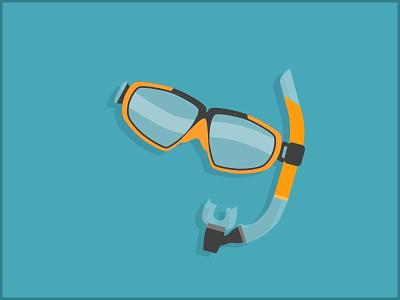 Snorkel illustration