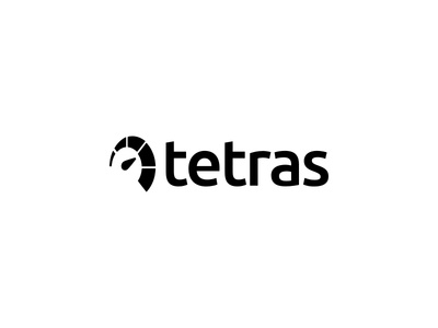 Tetras speed branding logo