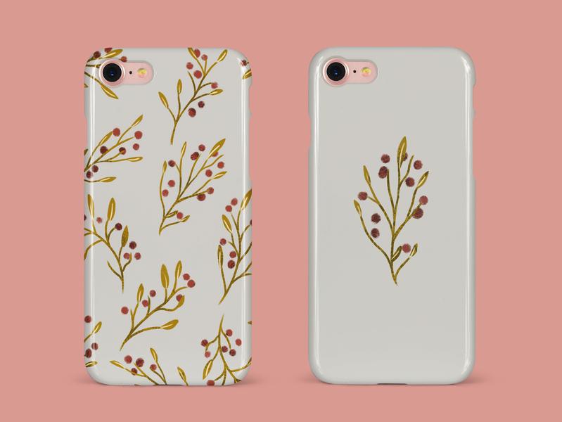 Flower iPhone Case industrial design case design iphone case design illustration