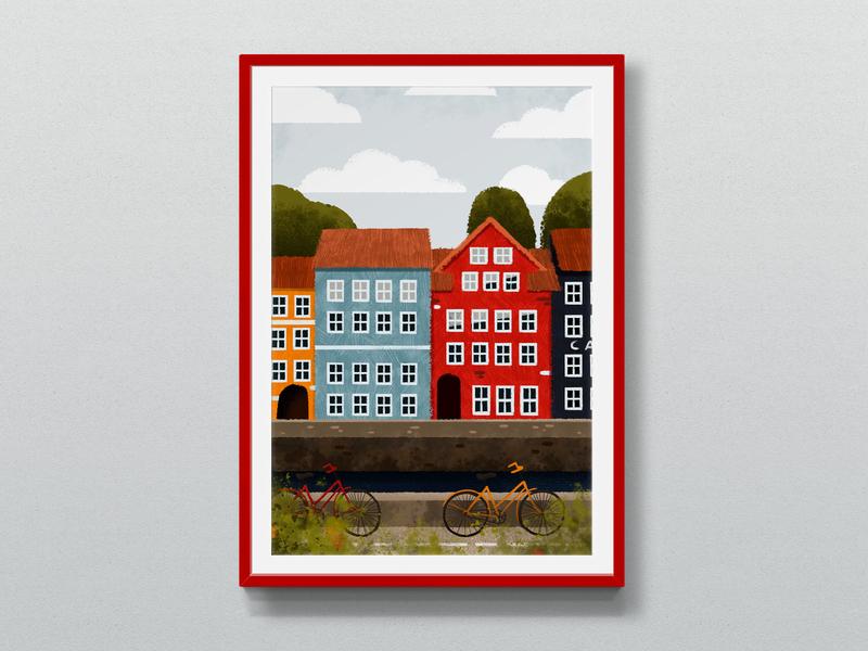 Amsterdam desitn inretior design children illustration illustration