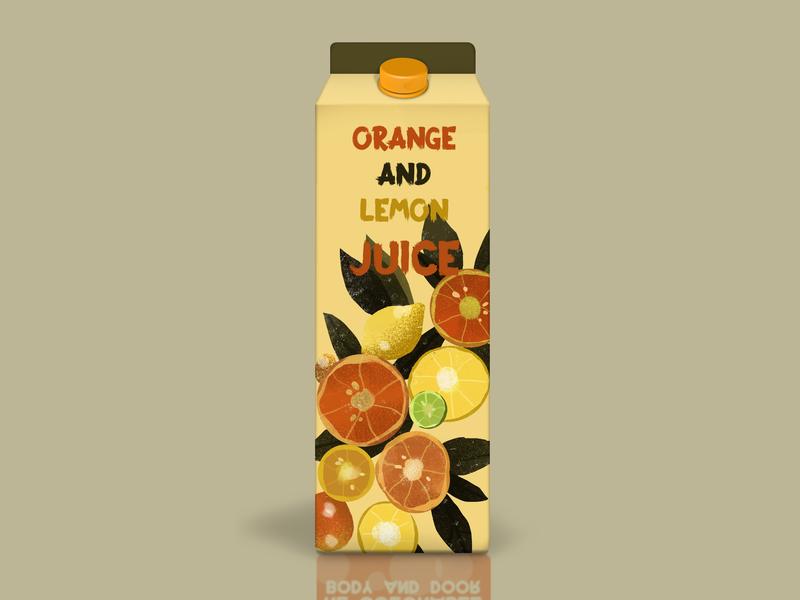 Juice Packing Design juice packing design industrial design food design illustration