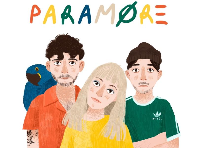 Paramore illustration paramore