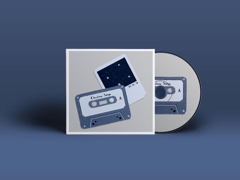 CD cover design christmas cover design cd cover design cd cover desig illustration