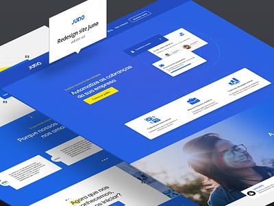 Redesign site Juno.com.br uidesign uidesigner redesign
