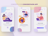 On-boarding of Conversation App