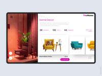 Furniture E-Store Concept