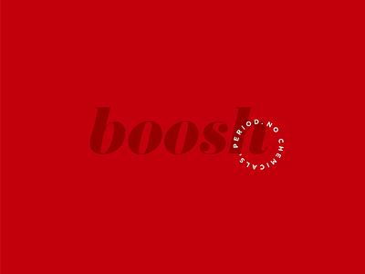 Boosh Logo + Slogan identity branding graphic design logo design logo lipstick identity design identity designer design cosmetic logo