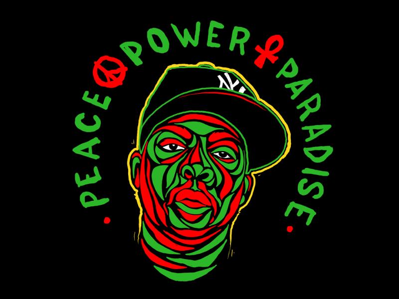 RIP Phife rip fife dawg atcq illustration dedication hip hop