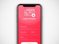 #002 - Daily UI Challenge - Credit Card Checkout