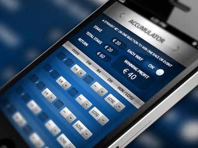 Bet Calculator App - Accumulator by Aidan Cotter | Dribbble | Dribbble