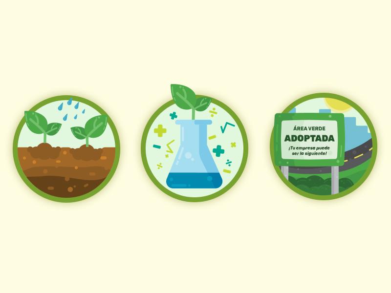 Non-profit web icons Pt.1 ui design design illustration icons set web design non-profit icons ecology