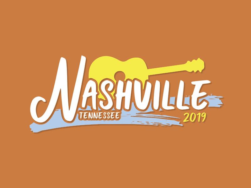 Nashville Incentive Trip Logo adobe illustrator illustrator logo design logo graphic design graphic designer designer design graphic
