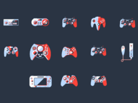 Hd controllers background