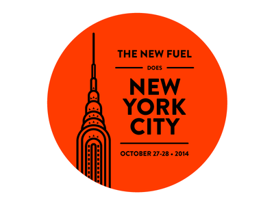 New York or Bust chrysler building new york the new fuel blackstone launchpad illustrator