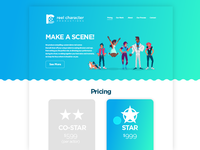 Production Co. Landing Page