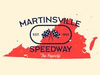 Martinsville Speedway Poster