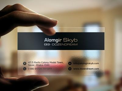 Professional Visiting Card Design