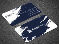 Professional Visiting Card Design 2