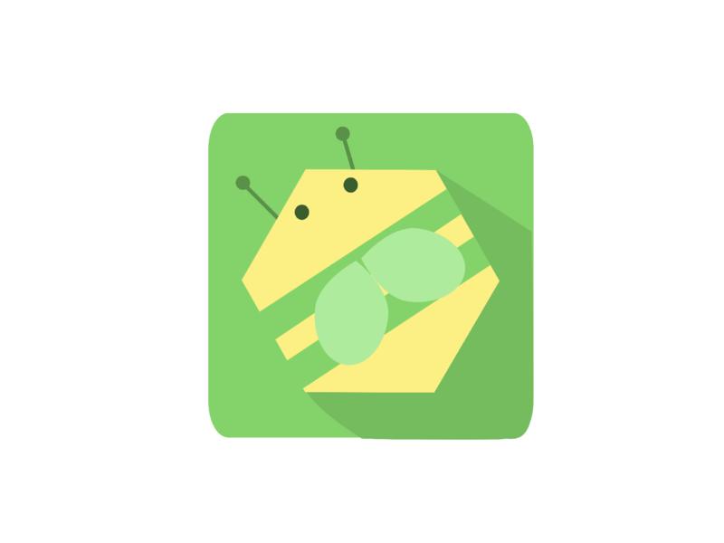 Bee Icon icon vector illustration bee logo