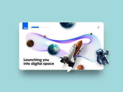 Marketing website - [Concept] branding website web ux design xd design website design webdesign ui design ui