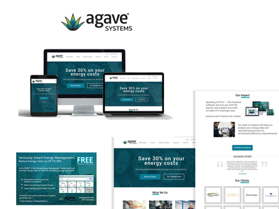 Agave Website And Ad Design