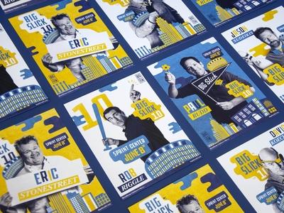 Big Slick 10 KC Posters and Branding