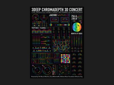 Chromadepth 3D Show Poster