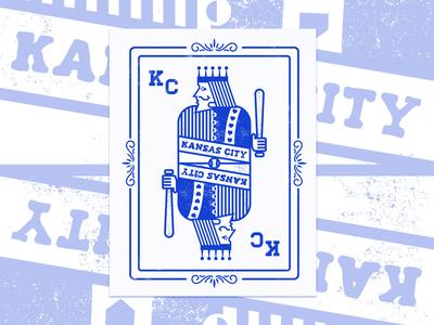 Royals Playing Card Poster