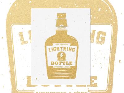 Lightning in a Bottle Print