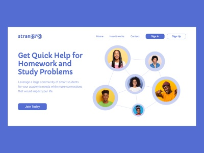 Landing Page UI Design startup product design photoshop productdesign school animation uiux figma community landingpage ui