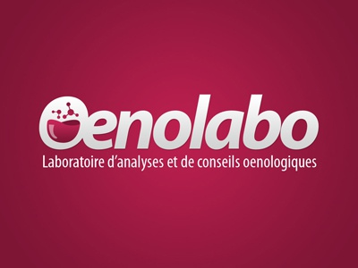 Oenolabo Logo wine logo myriad oenology