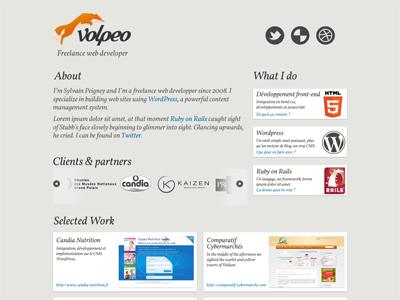 Volpeo portfolio volpeo nevercoming vaporwebsite
