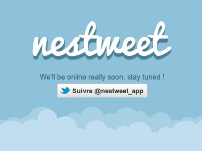 Nestweet app twitter coming soon