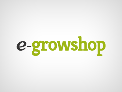 e-growshop logo green growshop grow plants