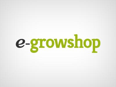e-growshop logo green growshop grow plants