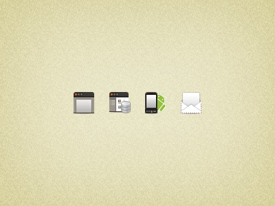 32px Icons Volpeo icons ubuntu webapp mobile android email icon