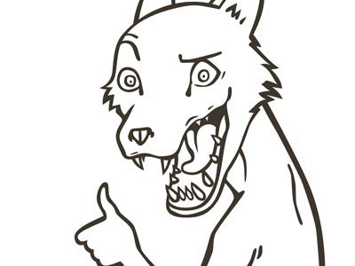 Vlpe mascot illustration vector fox volpeo character