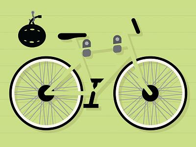Bike Month design illustration
