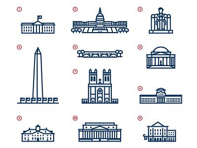 Washington DC illustration