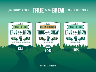 True to the Brew series brand illustration