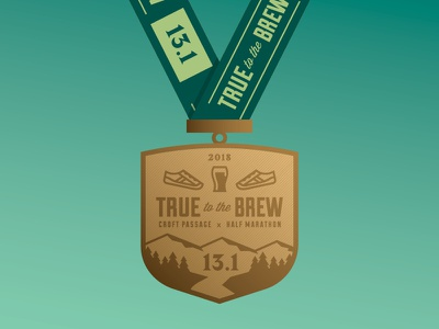 True to the Brew - Croft : : Medal