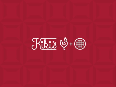 Kikis Secondary Mark logo iconography brand branding design illustration