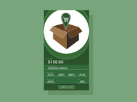 Daily UI Challenge Day 002: Credit Card Checkout