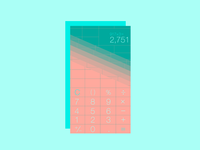 Daily UI Challenge Day 004: Calculator